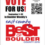 MCDA Receives BEST OF BOULDER Nomination!